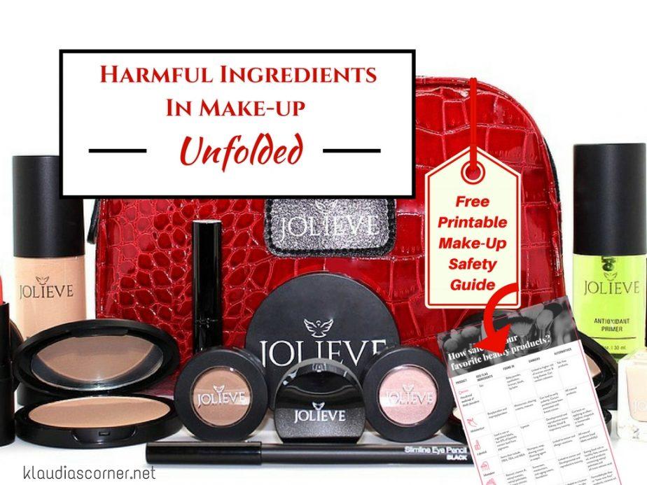 Harmful Ingredients In Makeup Unfolded