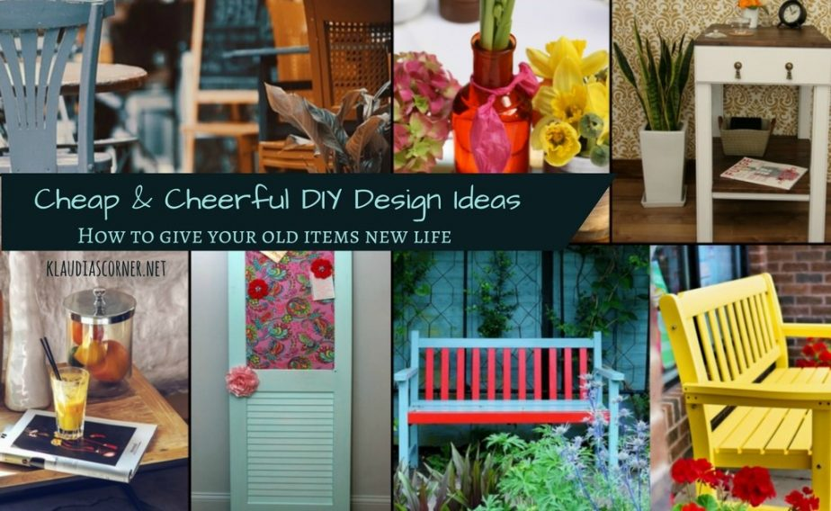DIY Design Ideas To Give Your Old Items New