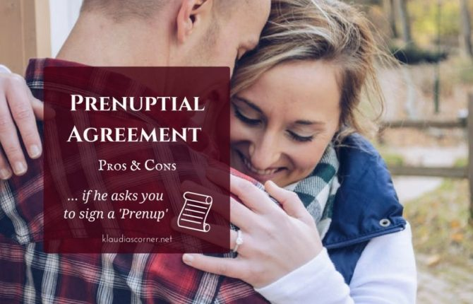 Prenuptial Agreement Contract