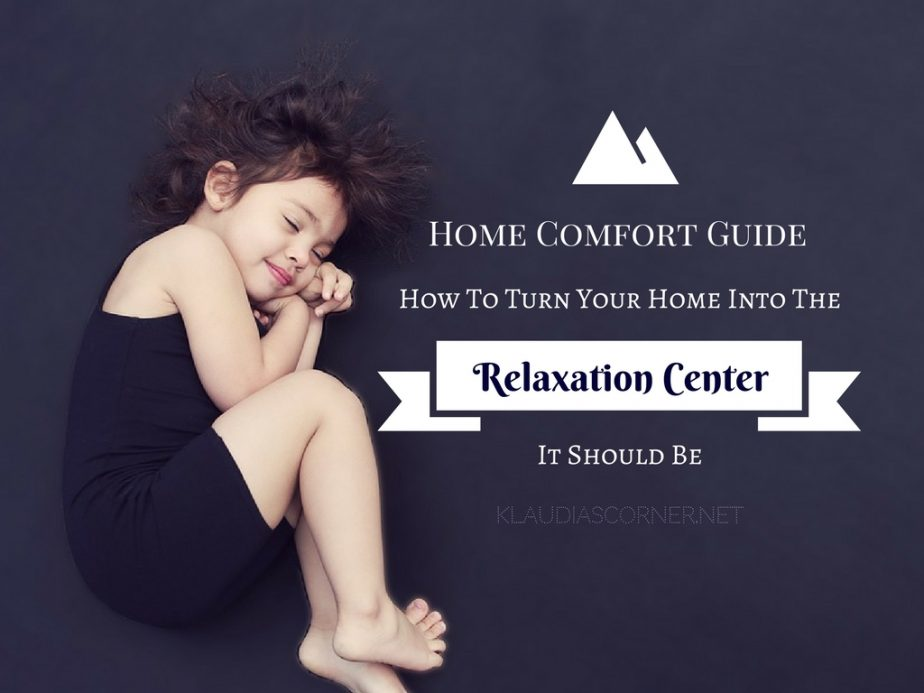 Home Comfort Furniture & Accessories - Tips On How To Turn Your Home Into The Relaxation Center It Should Be