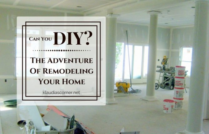 DIY Home Decorating Ideas - The Adventure Of Remodeling Your Home