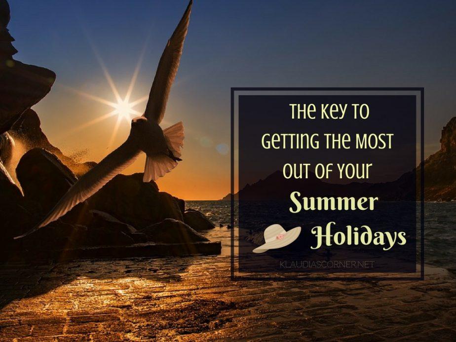 the summer holidays 2017