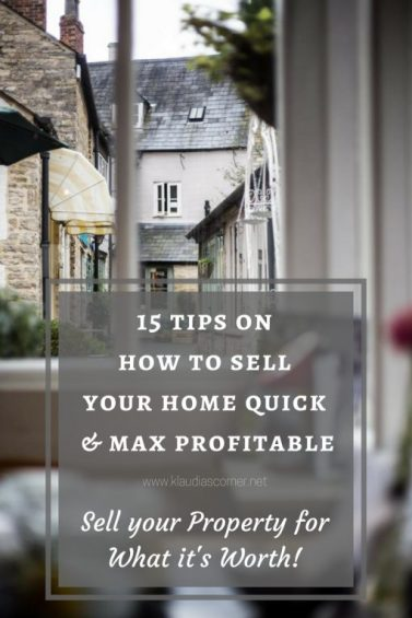 How To Sell Your Home Quick & Profitable