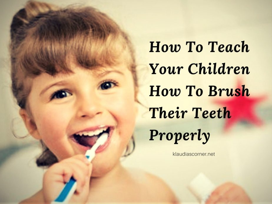 Oral Hygiene - How To Teach Your Children About Brushing Their Teeth Properly