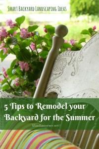 Backyard Landscape Ideas - klaudiascorner.net©