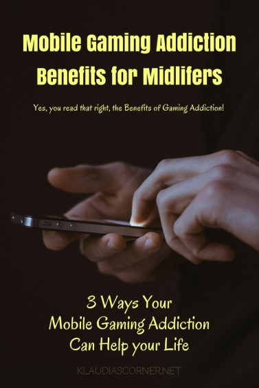 Mobile Gaming Addiction Benefits for Midlifers