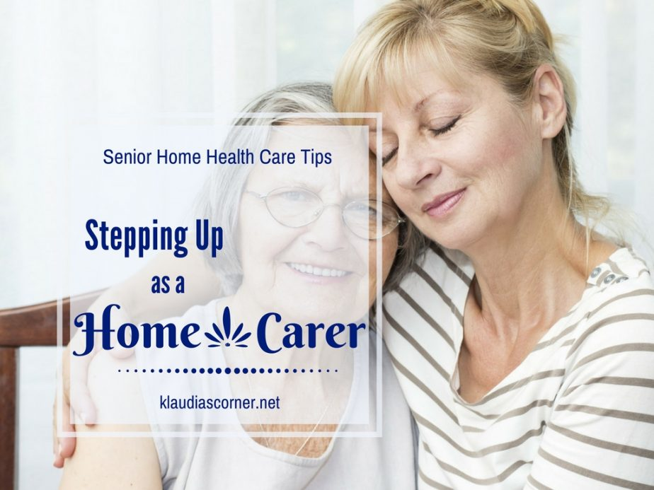 Senior Home Health Care Tips - Stepping Up As A Home Carer