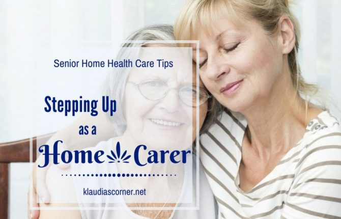 Senior Home Health Care Tips - Stepping Up As A Home Carer