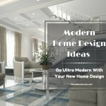 Modern Home Design Ideas – Go Ultra Modern With Your New Home Design
