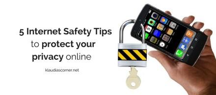 Digital Life 2017 - How to protect your privacy online Ιklaudiascorner.net©