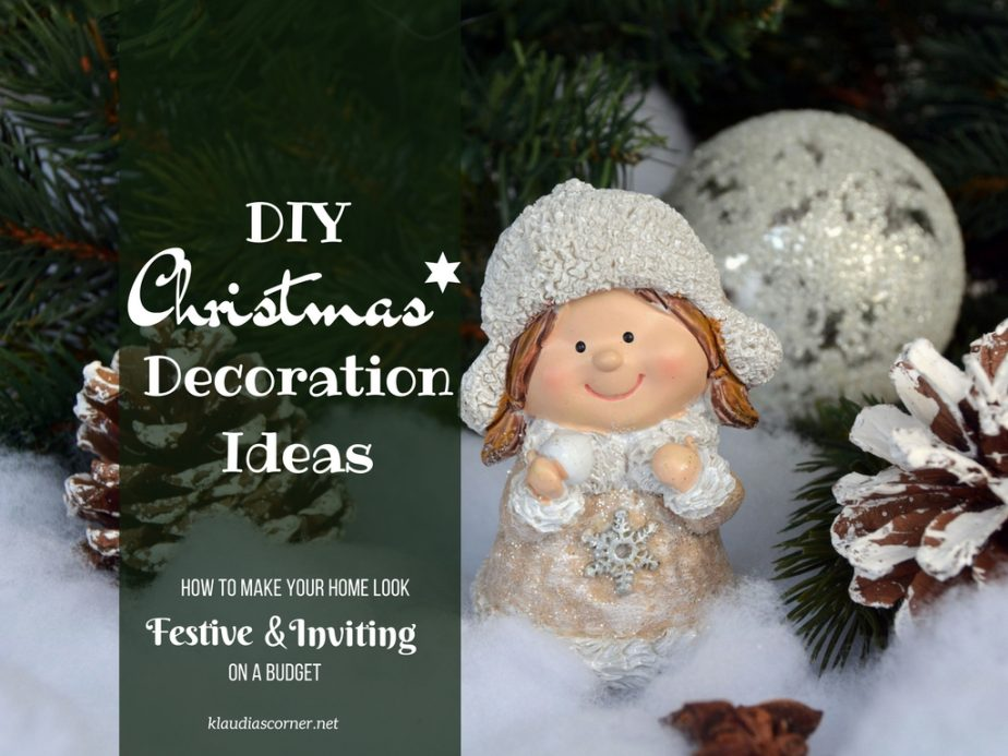 cheap christmas decorations to make your home look festive inviting