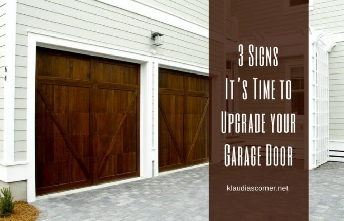 3 Signs it's time to upgrade your garage door - Tips an a new garage door installation