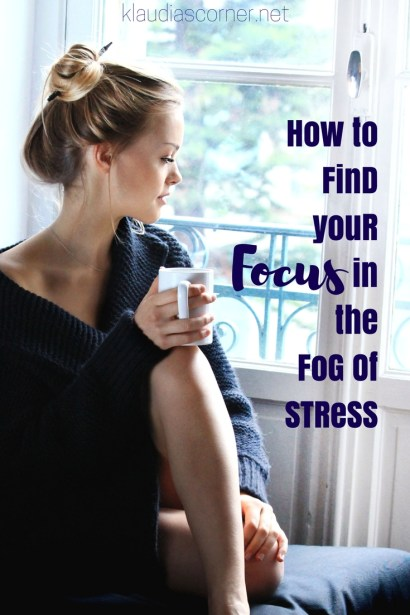 Self Improvement Motivation How to findyour Focus in the Fog of Stress