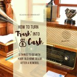 How To Make Cash From 'Trash' – 5 Things to Do With Your Old Home Decor