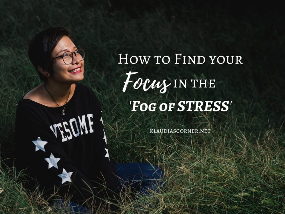 Self Improvement Motivation - How To Find Your Focus In The Fog Of Stress