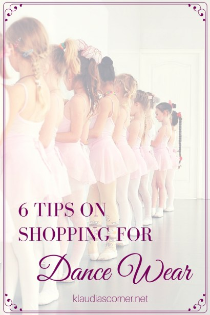 Dance Clothes Shopping Guide - klaudiascorner.net