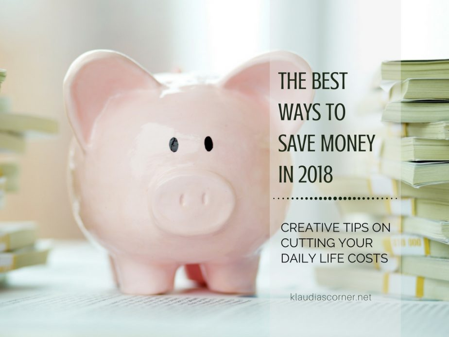 The Best Ways To Save Money In 2018 - The Make Do & Mend Mindset