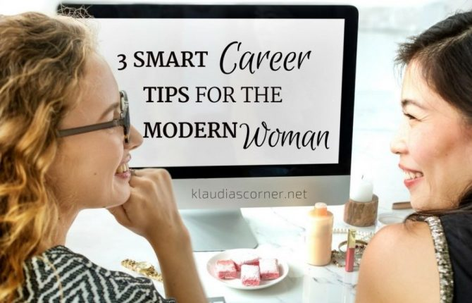 Job and Family Life 2018 3 Smart Career Development Tips for the Modern Woman