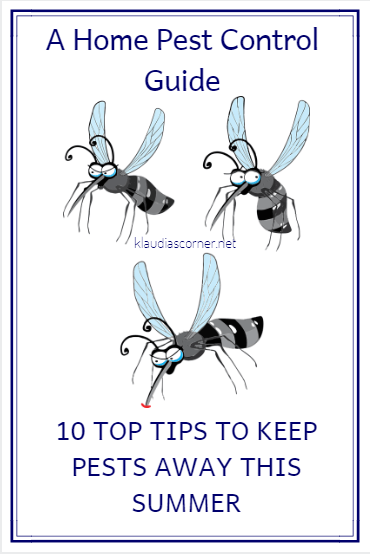 Pest Control Guide - 10 Top Tips To Keep Pests Away This Summer