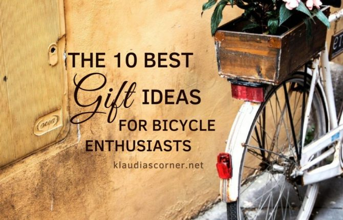 The Best Gifts For Cyclists - Top 10 Items for Bicycle Enthusiasts
