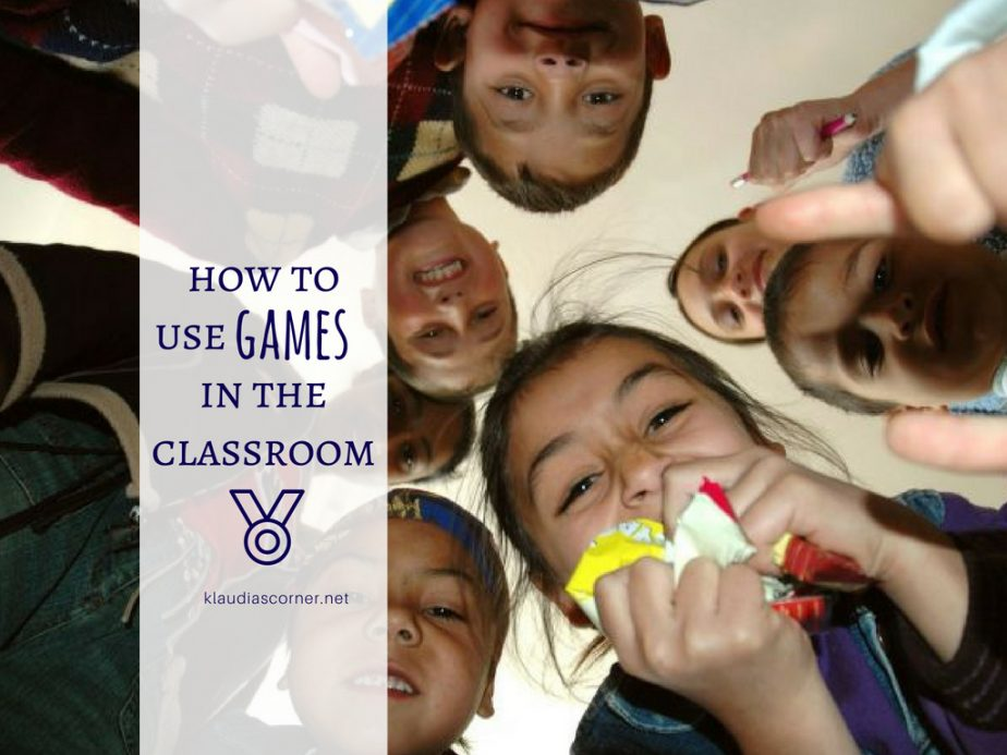 How to Use Games in the Classroom