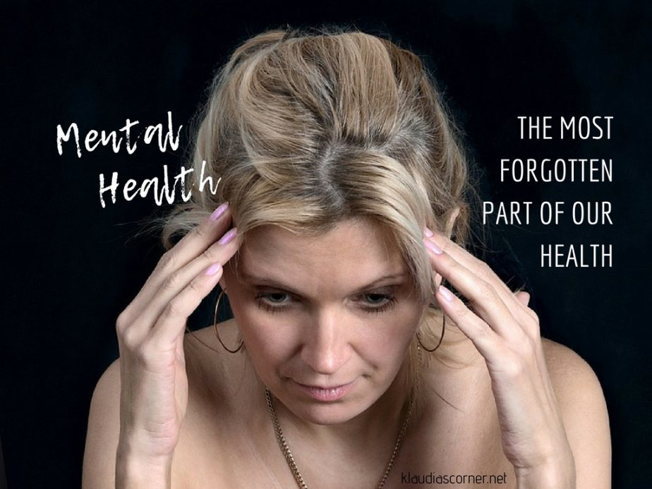 Mental Health Conditions - The Most Forgotten Part Of Our Health