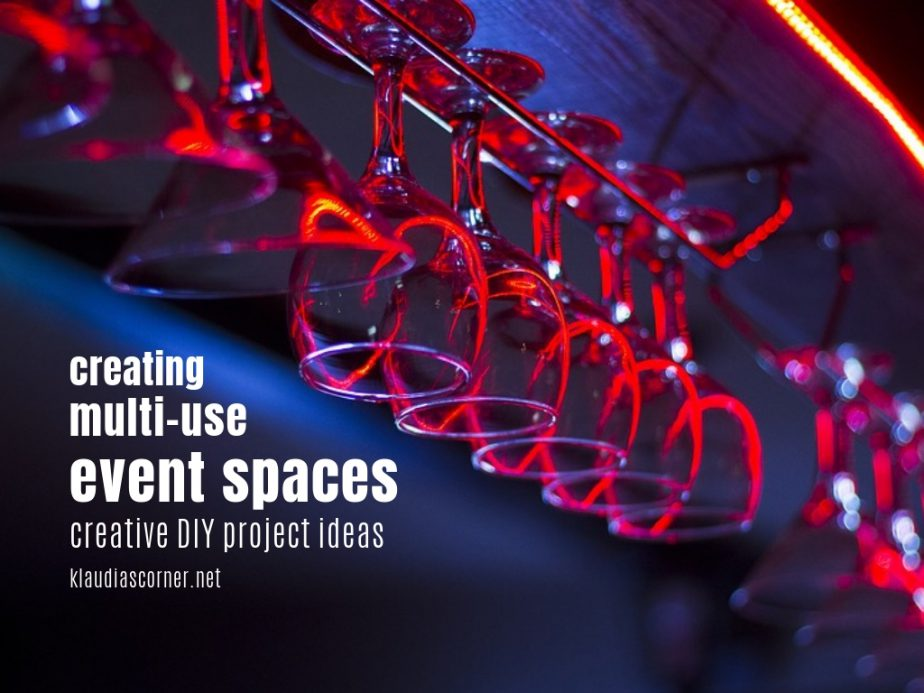 Creating Multi-Use Event Spaces - Creative DIY Project Ideas