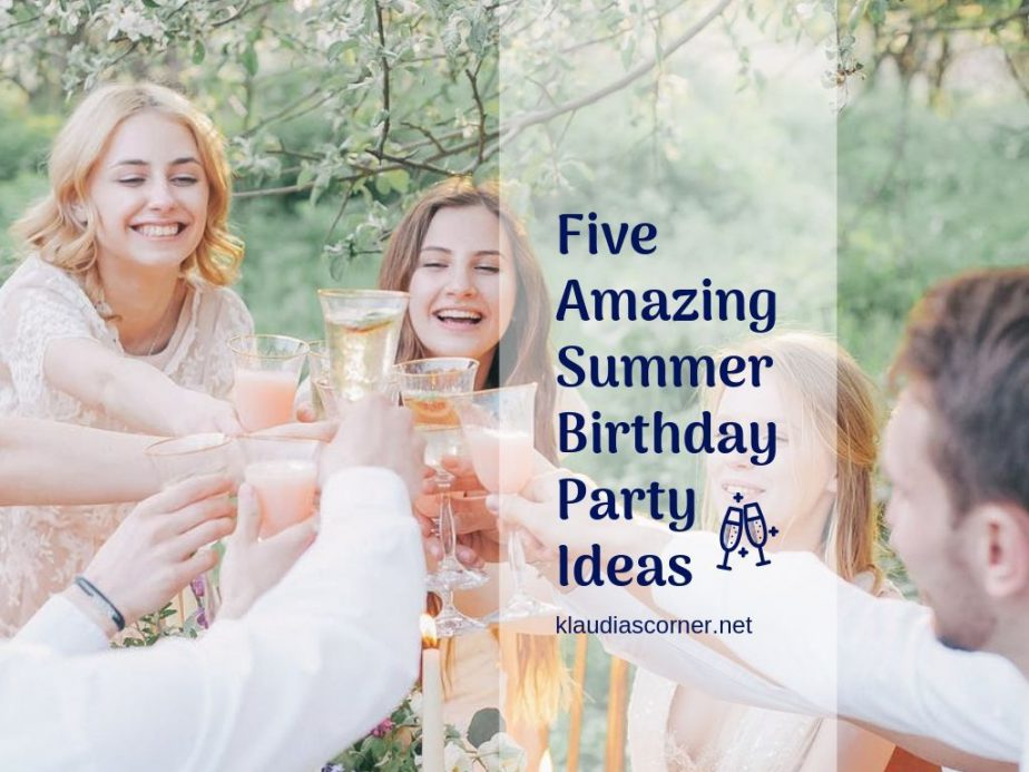 5 Summer Birthday Party Ideas & Planning Tips
