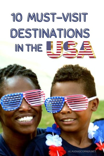 Best Family Vacation Destinations • Top 10 Must-Visit Places in The USA