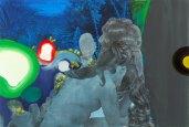 Klaus Killisch, Melancholie, 2006, mixed media on canvas, 150x220cm