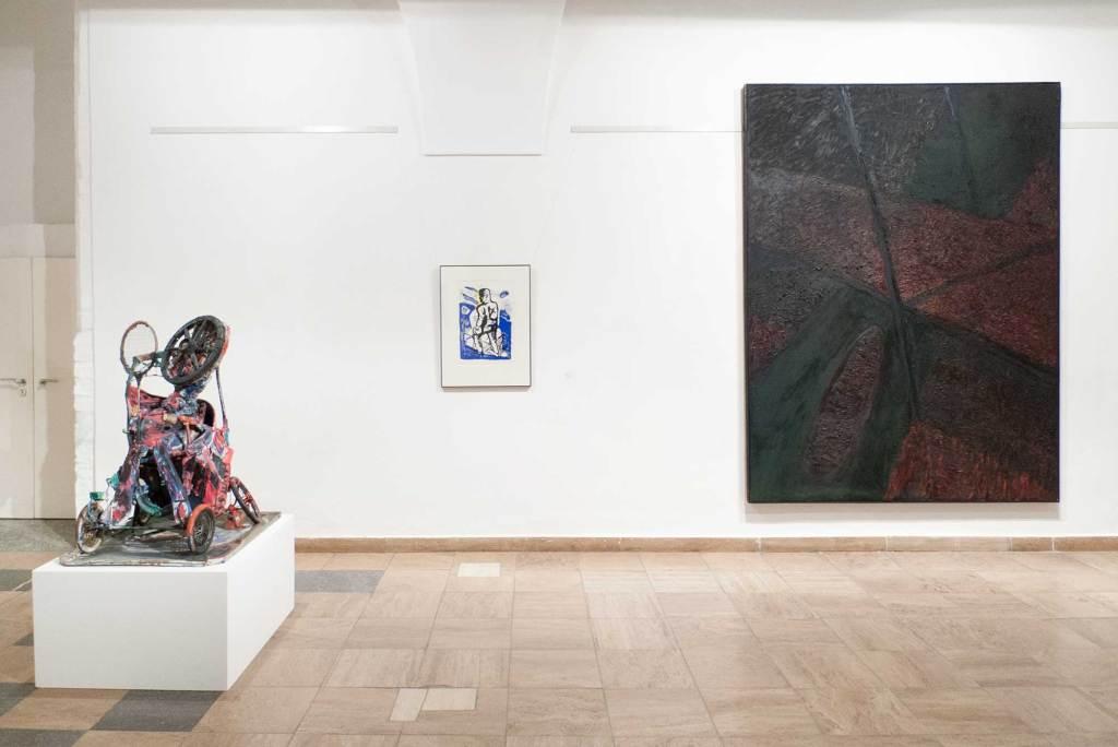 DDR EXPRESSIV - die 80er Jahre. Museum Junge Kunst, Gerd Sonntag, Klaus Killisch, Trak Wendisch