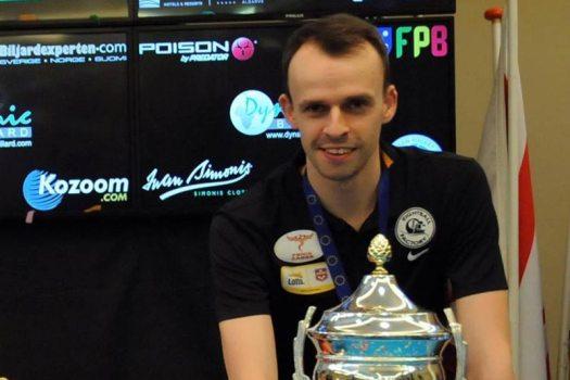 marc bijsterbosch, beker europees kampioen, biljart, 10-ball