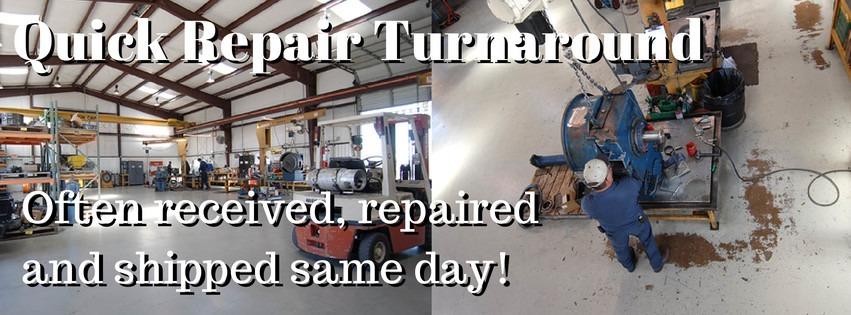 Rapid turnaround for torque converter repair - KLClutch
