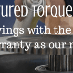 Save on remanufactured Torque Converters for heavy machinery!