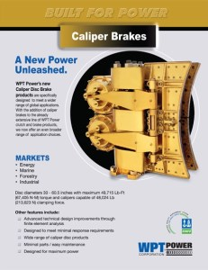 Caliper flyer cover for PDF of brake caliber information