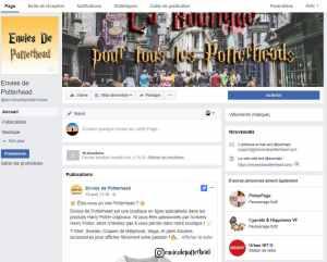 Facebook Envies de Potterhead