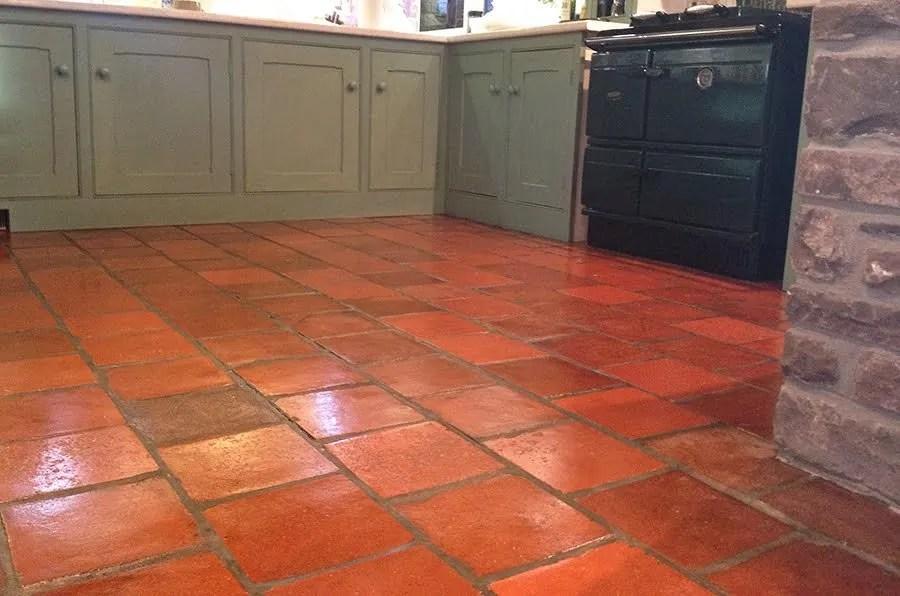 how to clean quarry tiles quarry tile