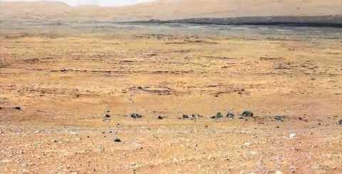Panorama di Marte da Curiosity