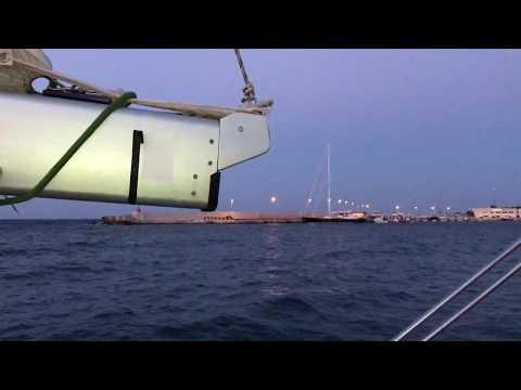 screenshot video ancorati ad Otranto