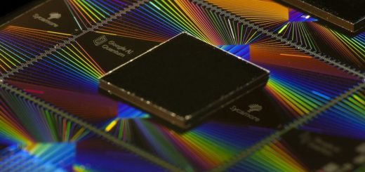 Google's Sycamore quantum processor, which was behind the breakthrough. Credit: Google