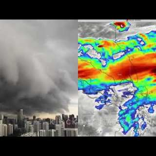 Screenshot video Clouds over Singapore November 3 2020