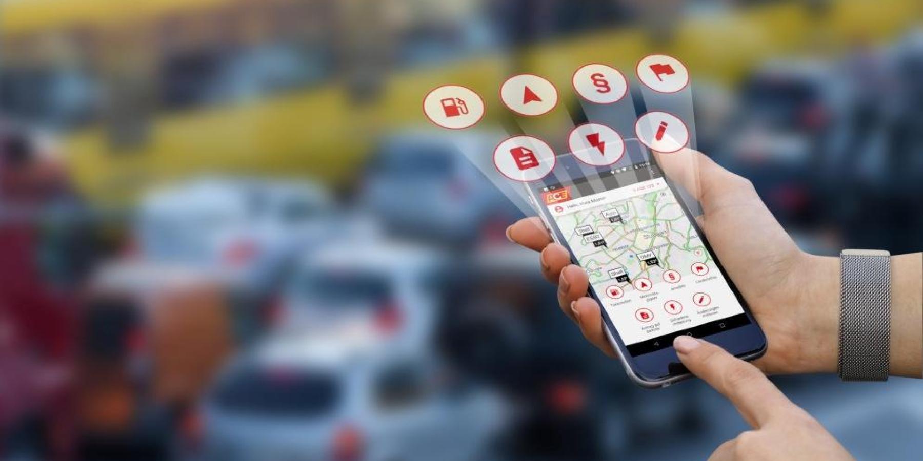 Mobilitäts-App des ACE relauncht und erweitert