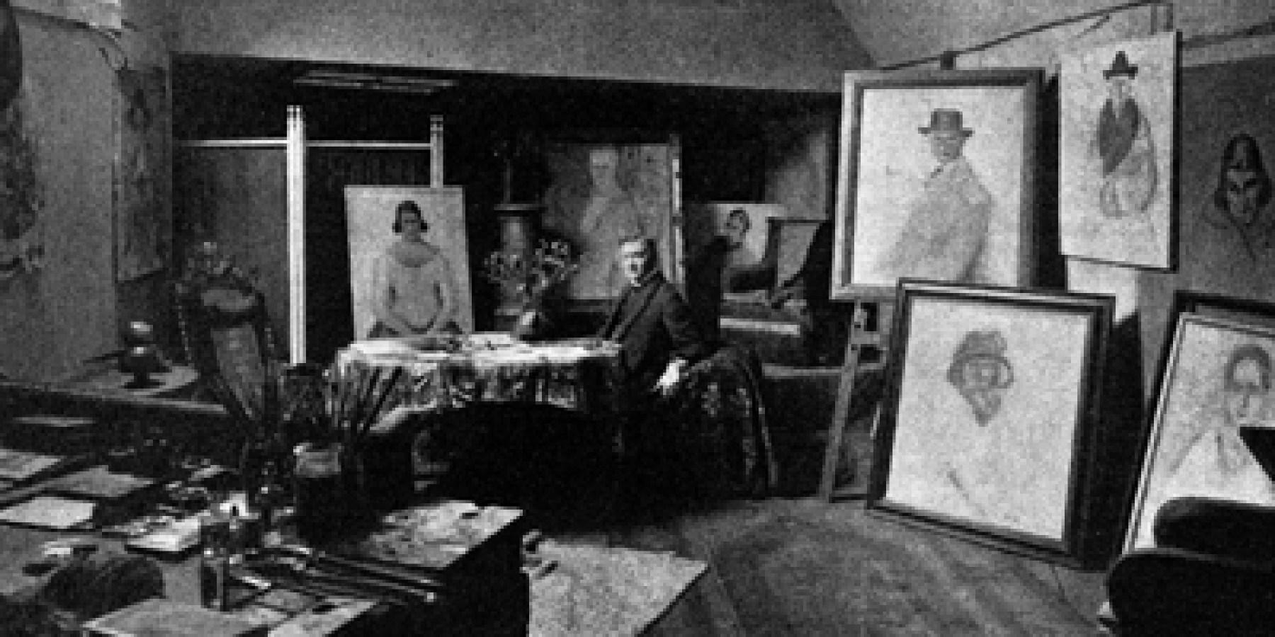 Der Zwinger als Maleratelier