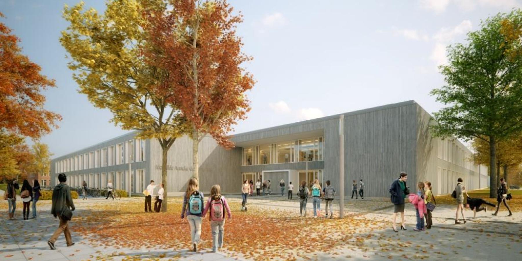 Münsters größtes Schulprojekt im Stadtportal
