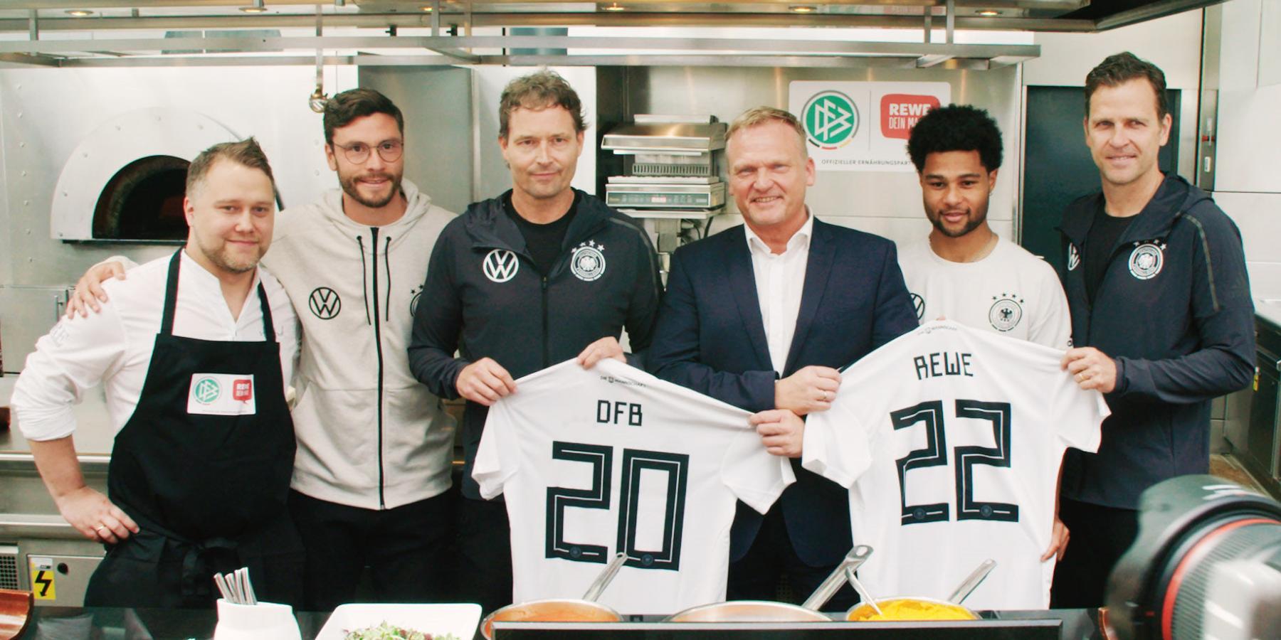REWE und DFB fördern gesunde Ernährung im deutschen Fußball