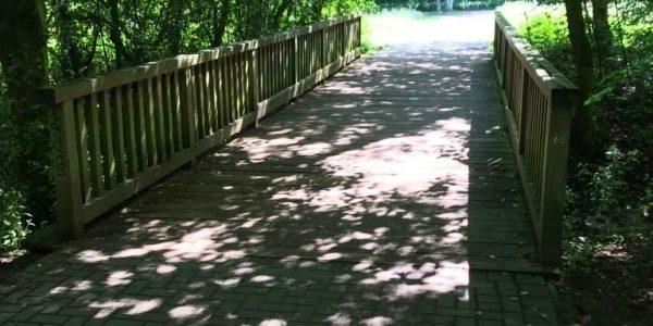 Brücke über Kinderbach wird saniert