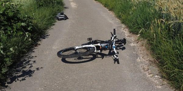 Fahrrad an der Königsberger Straße angefahren