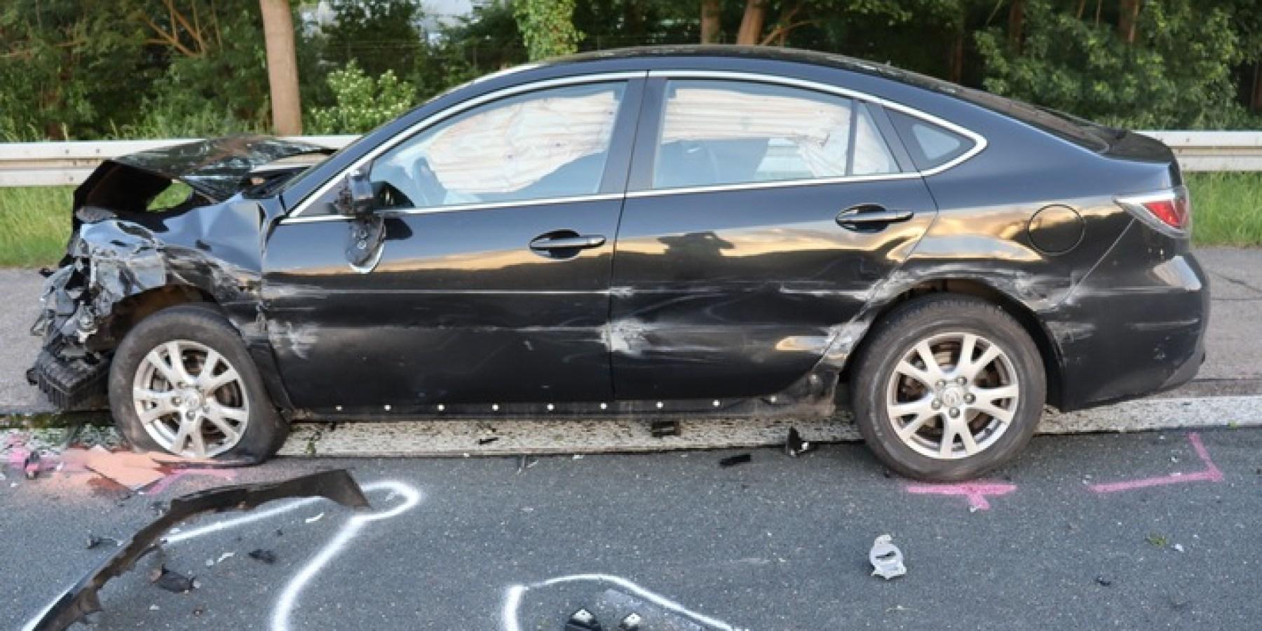 Unfall am Stauende – über 60.000 Euro Sachschaden