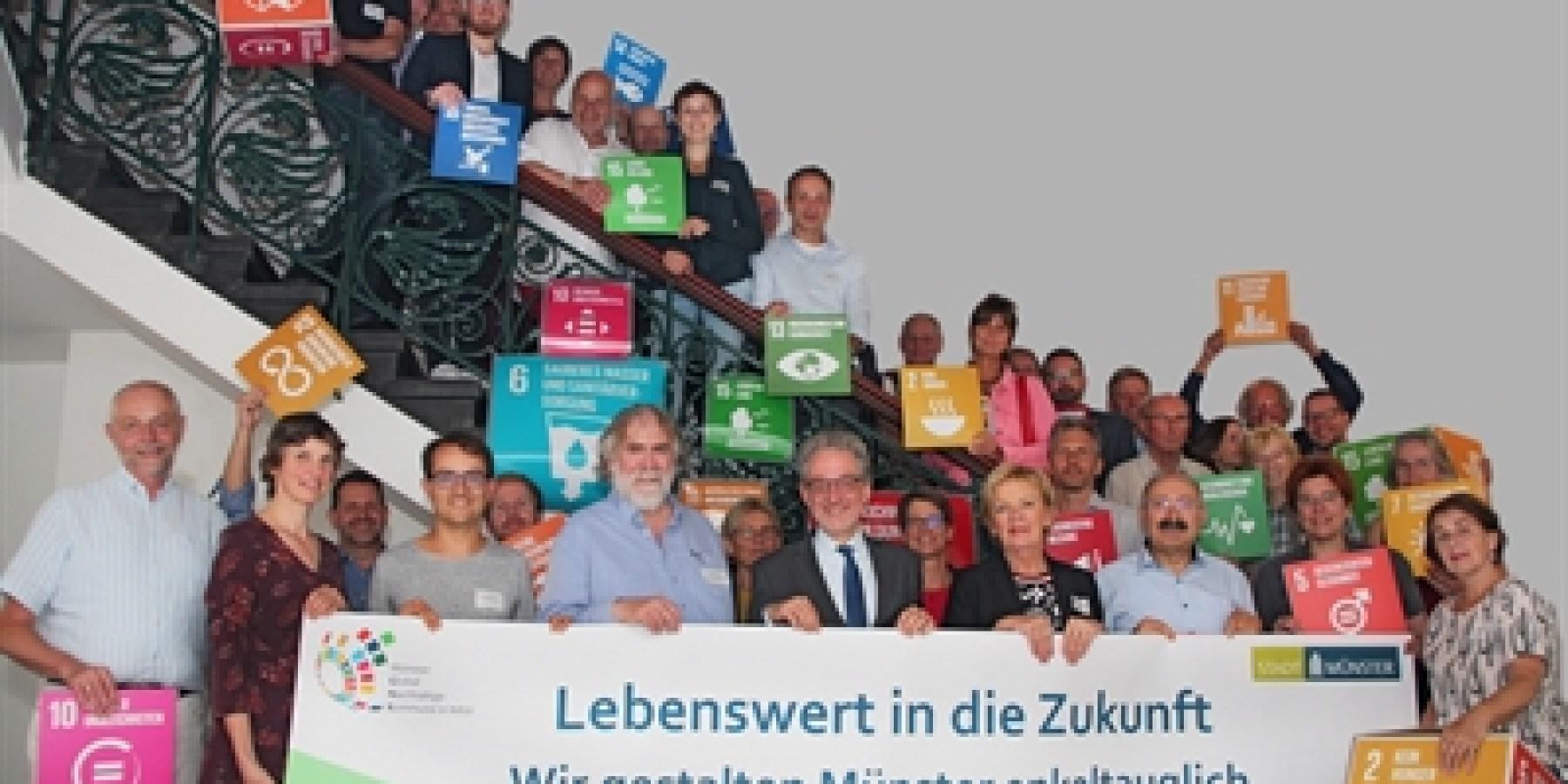 28 Schlüsselprojekte für Münsters nachhaltige Entwicklung