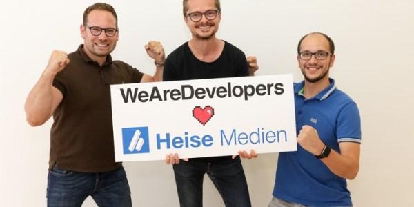 Mehr Power für die Entwickler-Community Heise steigt bei WeAreDevelopers ein